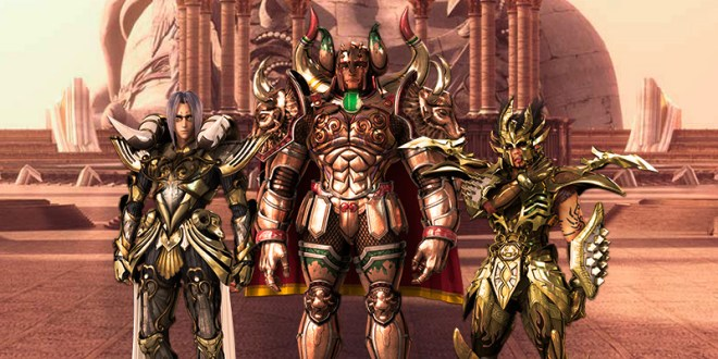 Saint Seiya Legend of Sanctuary santos dorados