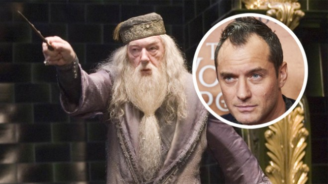 jude law interpretara a albus dumbledore
