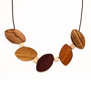 Artesanía Bejarano collar-hojas-CM2501