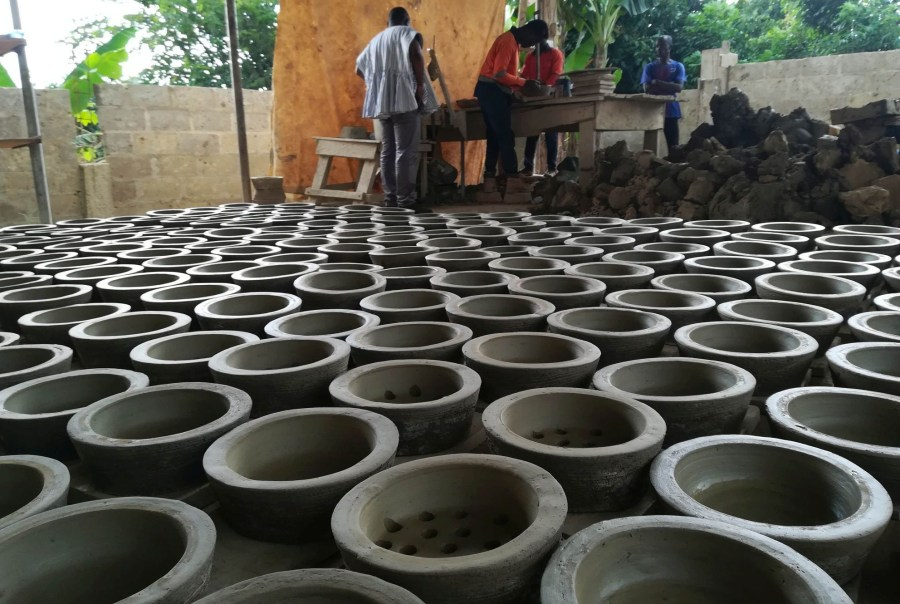 Man&Man production of improved cookstoves