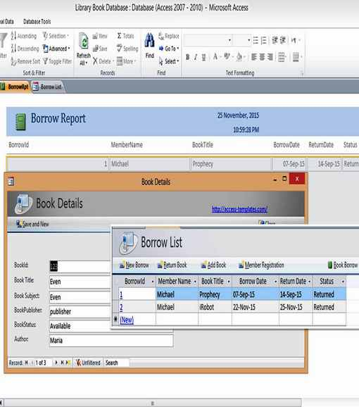 Free demo to try out! 108 Microsoft Access Databases And Templates With Free Examples Updated September 2021
