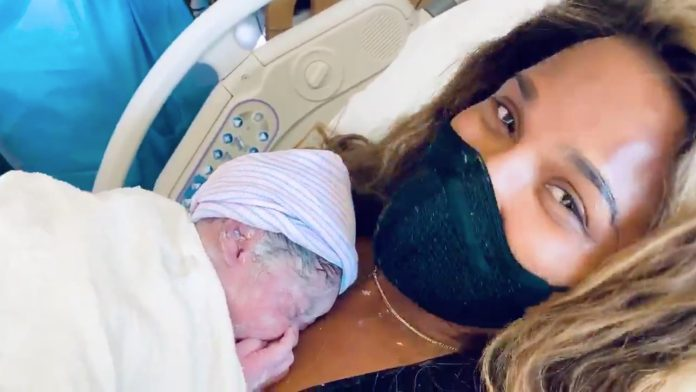 Ciara welcomes new baby boy with husband Russel Wilson Jr