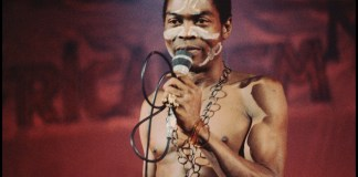 "The son of Fela Kuti, Afrobeat pioneer, has criticized the use of the music legend's name/image on clothing containing the word ""Jagaban."""