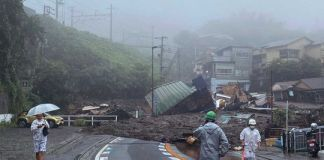 19 Missing, Homes Swept Away In Japan Landslide After Heavy Rain