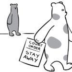 Bears restraining order