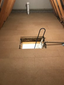 LOFT BOARD INSTALLATION IN NEW BUILD ON FLOATING FLOOR