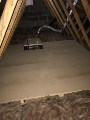 5 Sqm New build Home Storage Platfrom on Loftleg with ladder