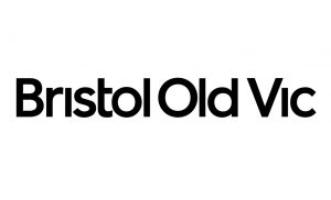 image shows Bristol Old Vic written in black sentence case letters