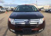front view of ford edge