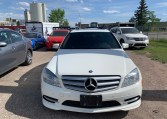 front view of mercedes c250