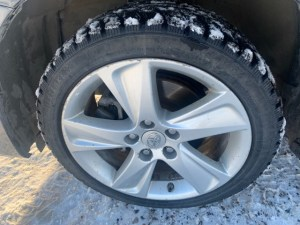 Matrix 17 inch alloy rims