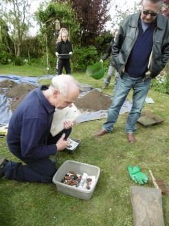 John Newman identifies some of the pottery