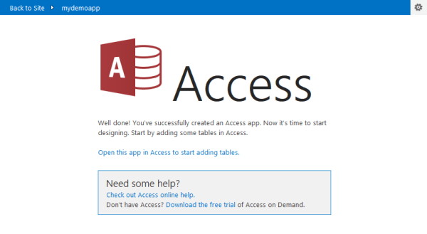 ms access download free trial