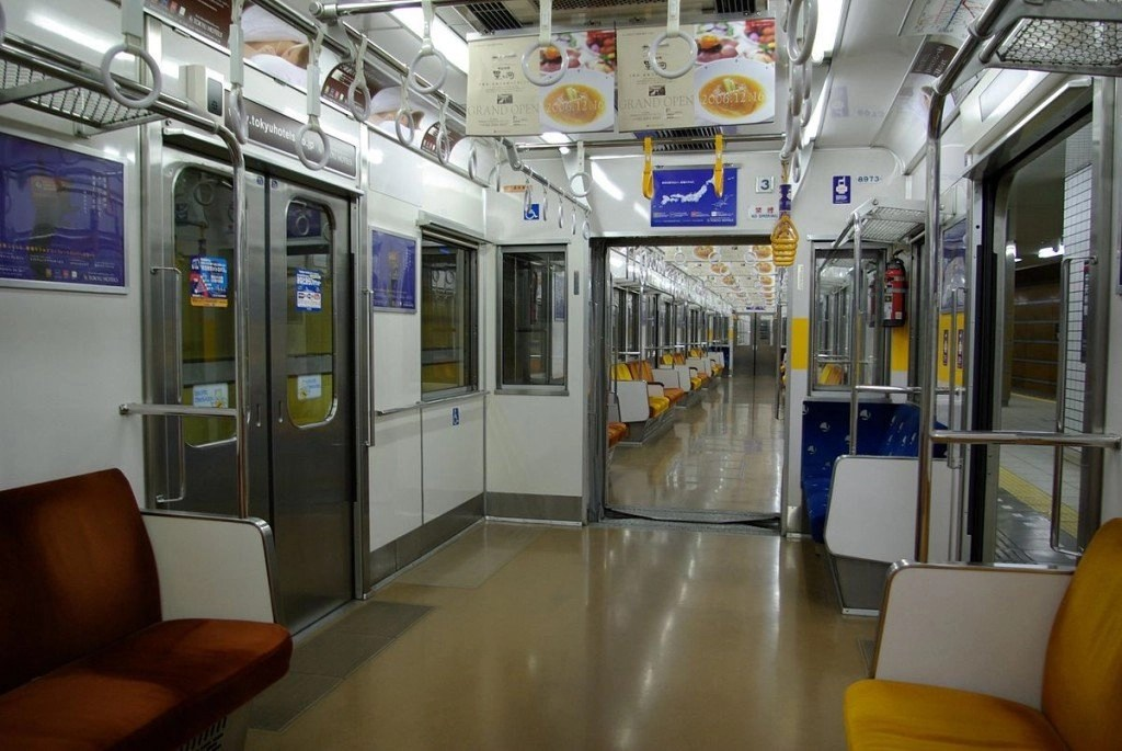 Riding The Train Or Subway In Japan In A Wheelchair