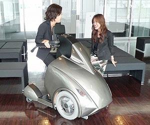 Robotic concept wheelchair