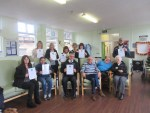 Staff of the Wales Mobility Driving and Assessment Service with Principal Consultant Richard Jones