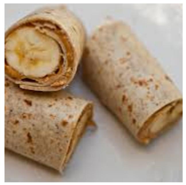 Peanut Butter Fruit Wrap