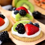 fruit pizza cookies