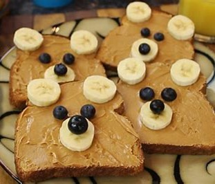 brown bear toast
