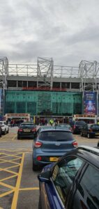 The Front of Old Trafford