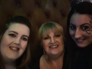 Rach, Jen and Kat at Bambinos