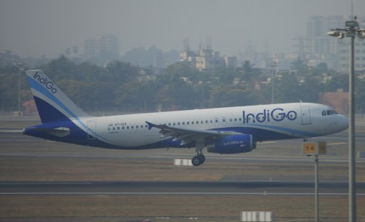 Indigo airplane india