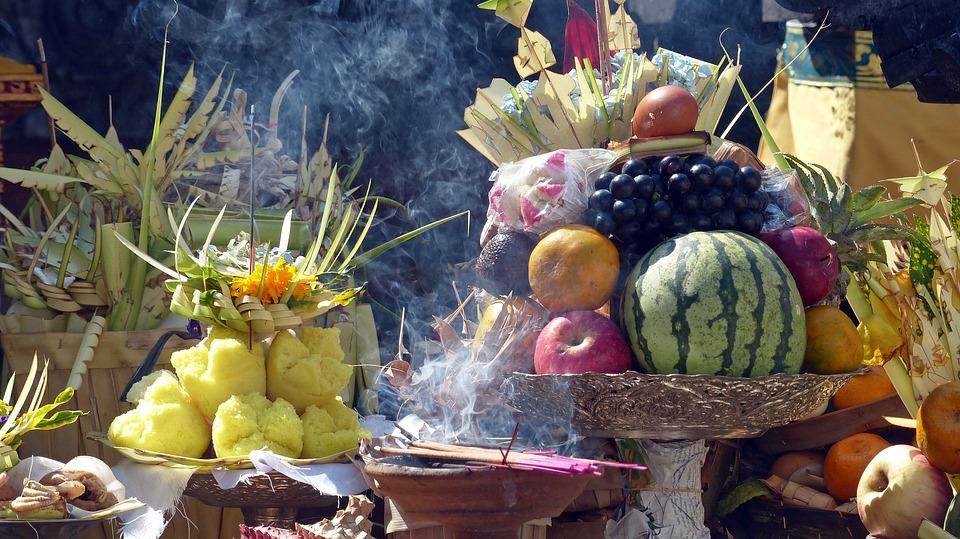 bali offerings indonesia