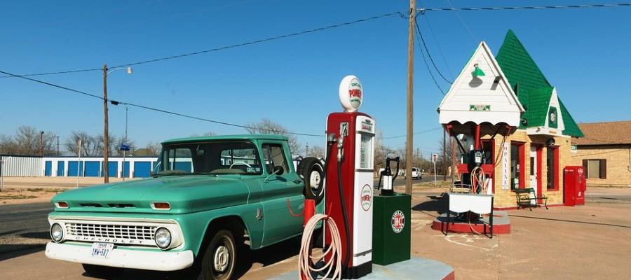 petrol station usa