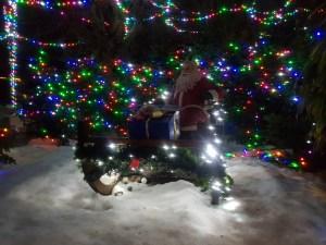 Santa Claus at Phantasialand Germany