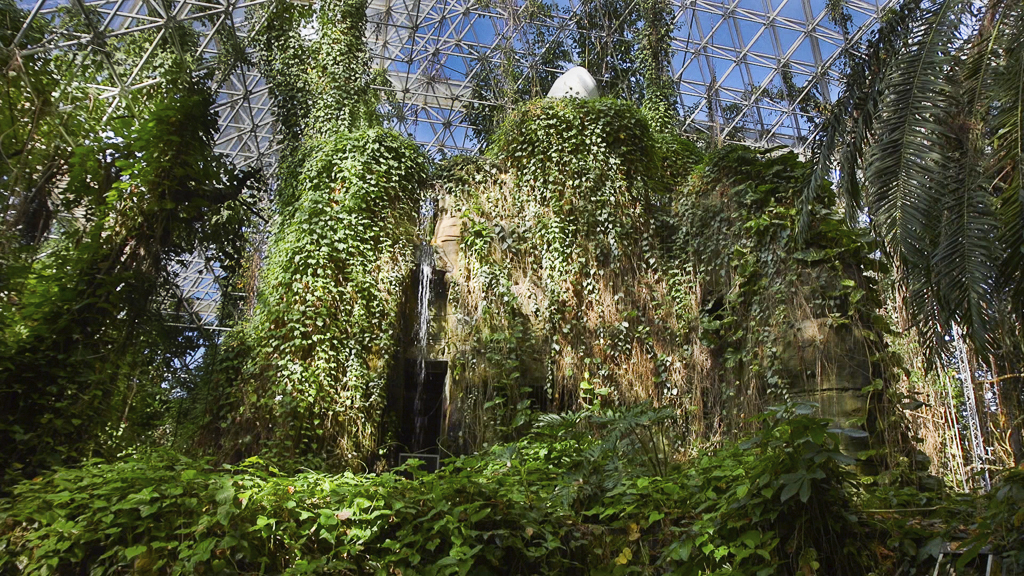 biosphere waterfall