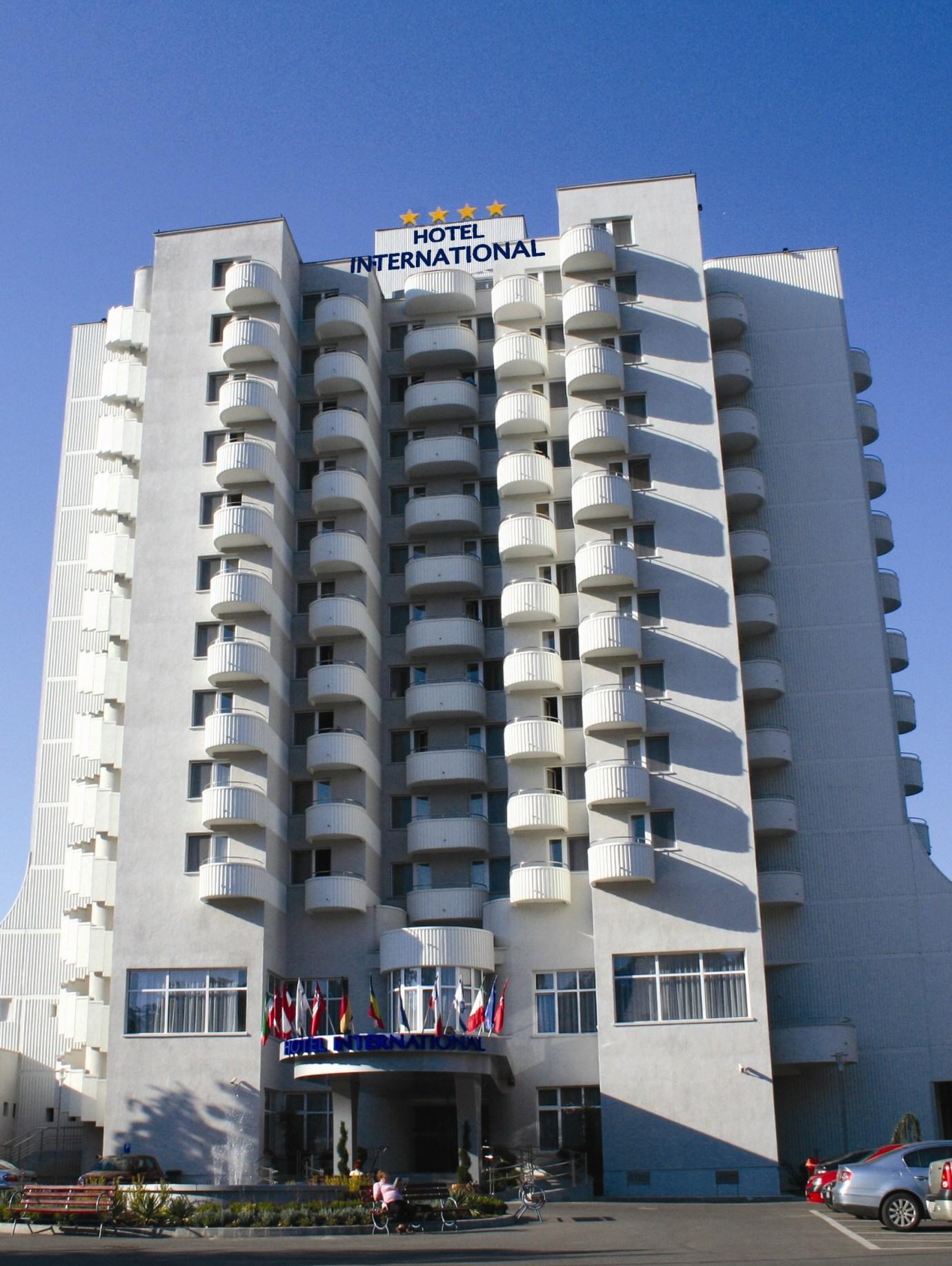 hotel international in romania