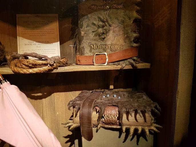 monster books harry potter