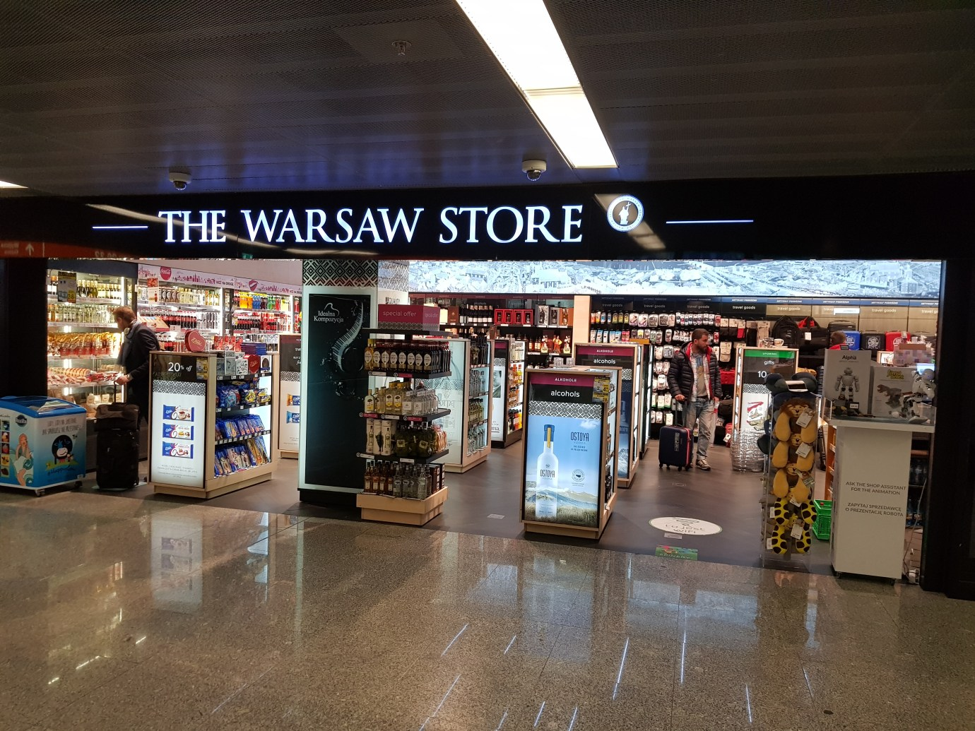 SHOPS WARSAW AIRPORT