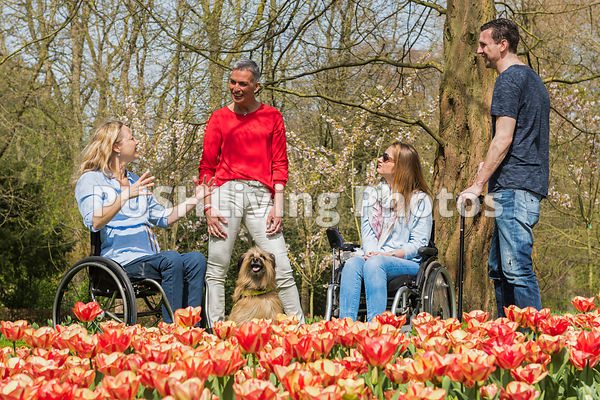 ATO Team in the Keukenhof