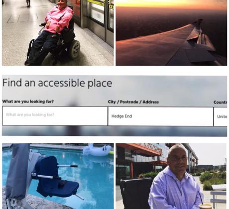 Access Advisr Rob Trent photos collage