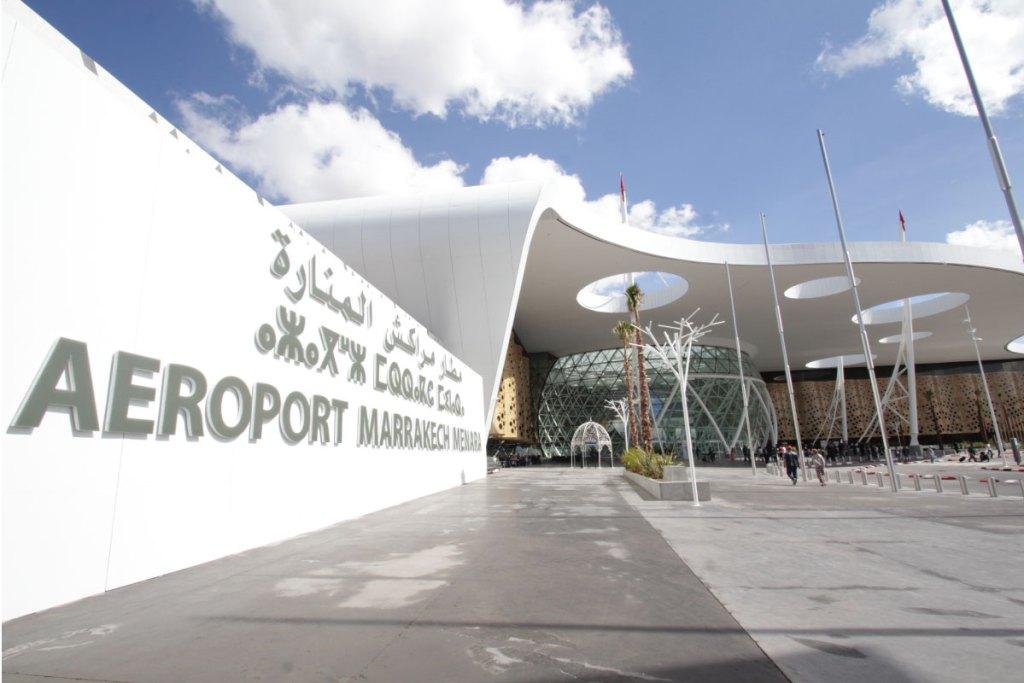 aeroport Marrakech Marocco