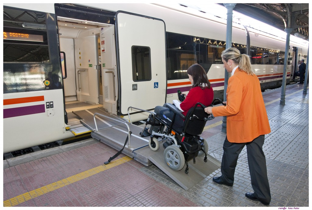 Renfe Atendo Service AVE Spain