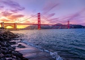 golden gate bridge san francisco USA