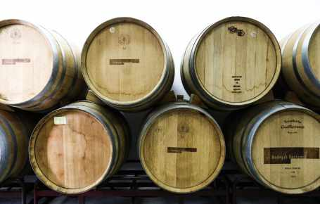 Wine barrels Wine Tasting Tour