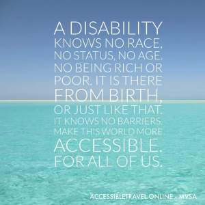 a disability knows no barriers accessible travel online