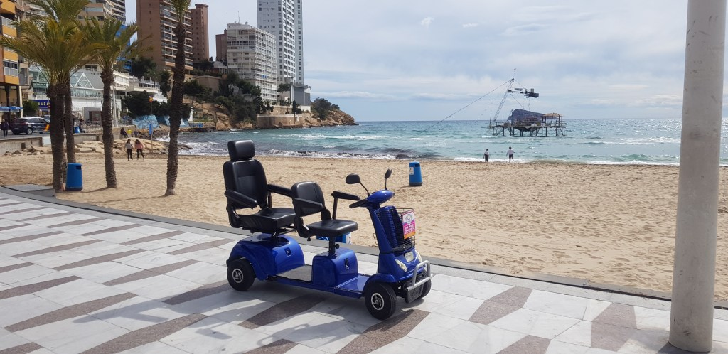 mobility scooter rental Spain