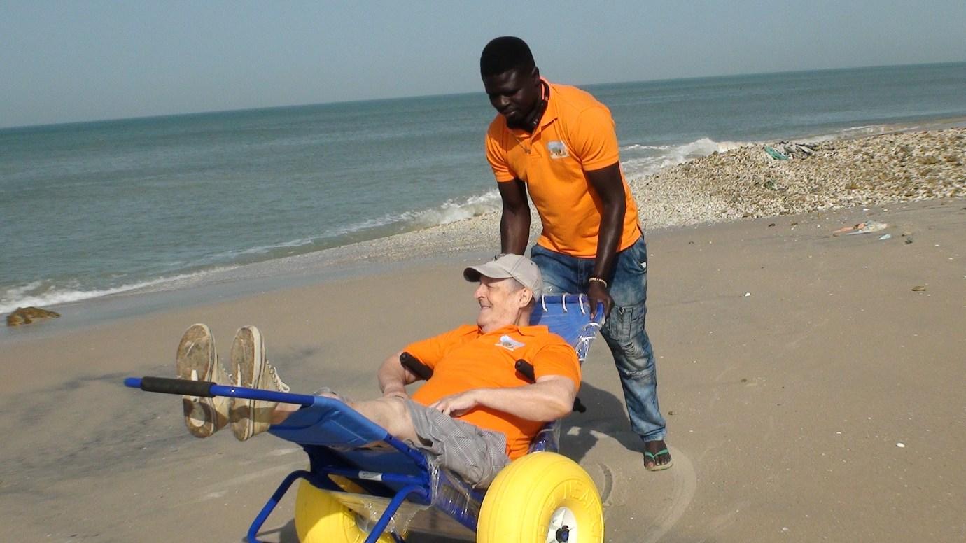 Accessible beach life