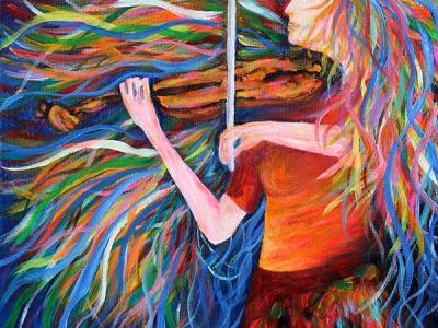 painting by john bramblitt