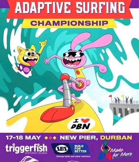 2019 south african adaptive surfing championship