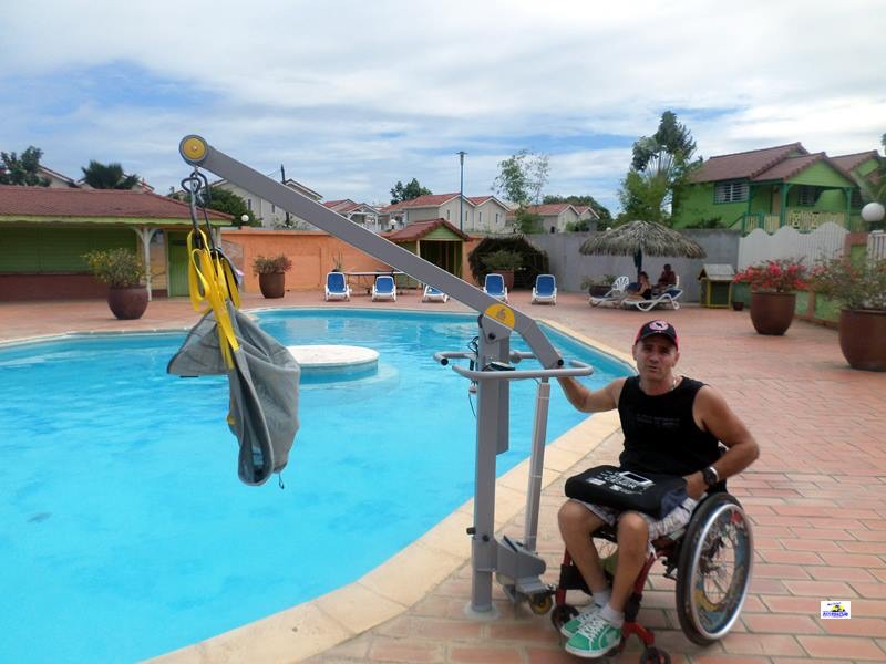 accessible pool martinique