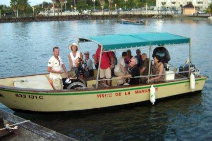 tour martinique boat