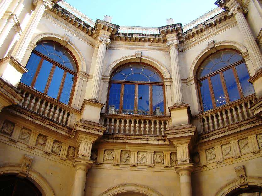 Venetian Loggia Crete Greece