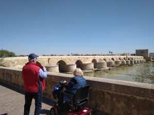 cordoba view bridge spain