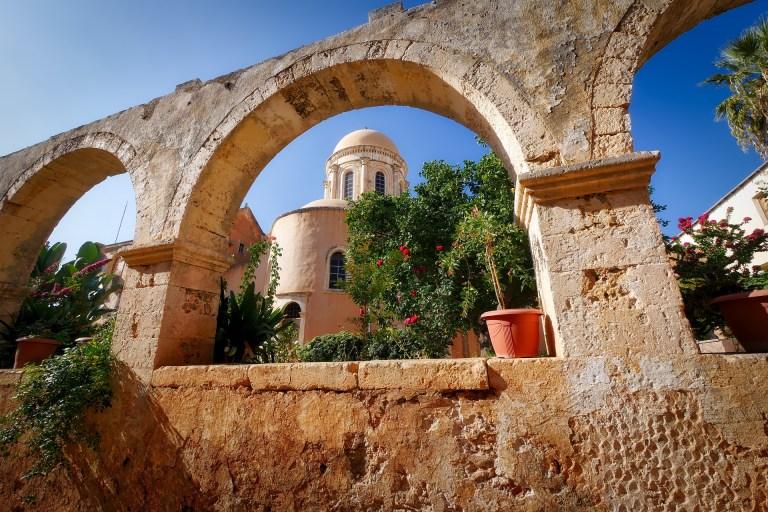 crete architecture Greece