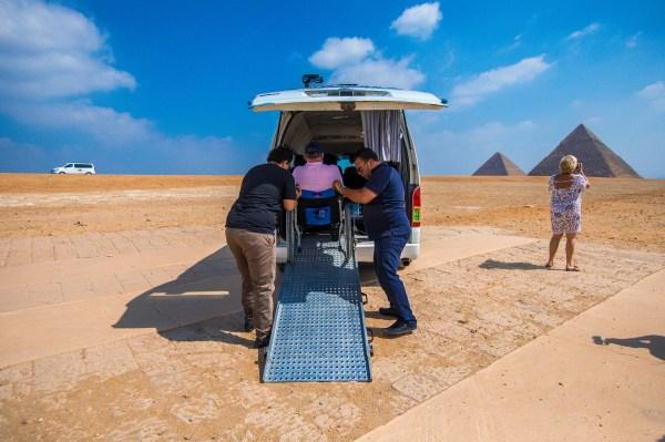 accessible van egypt